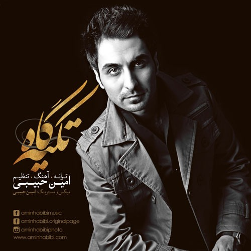 Amin Habibi Tekyegah - دانلود آهنگ جدید امین حبیبی به نام تکیه گاه