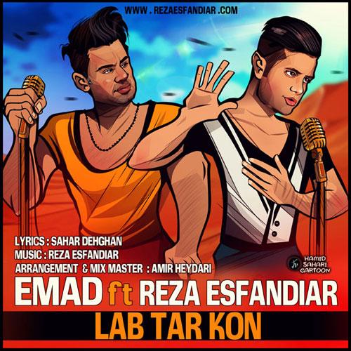 Emad Ft Reza Esfandiar Lab Tar Kon