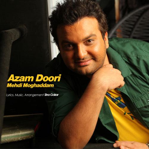 Mehdi Moghadam Azam Doori - دانلود آهنگ مهدی مقدم به نام ازم دوری