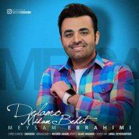 دانلود آهنگ جدید میثم ابراهیمی به نام دلمو میدم بهت