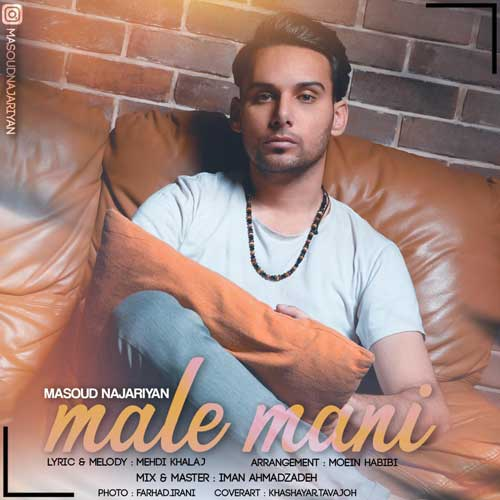 Masoud Najariyan Male Mani