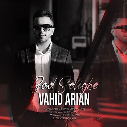 Vahid Arian Bad Salighe - دانلود آهنگ وحید آرین بد سلیقه